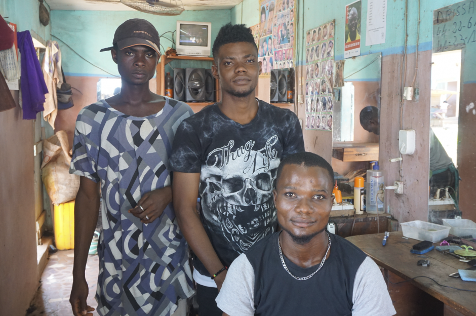 ThinkPlace misusing barber shops to disseminate HIV information in Cote D'Ivoire