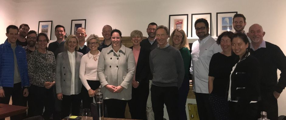 Alicia Coutts meets members of the ThinkPlace team