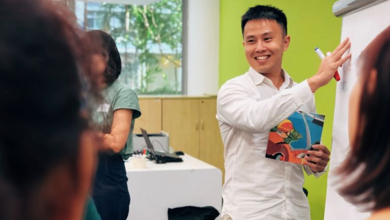 ThinkPlace designer Calvin Tan is part of our education offering in Singapore