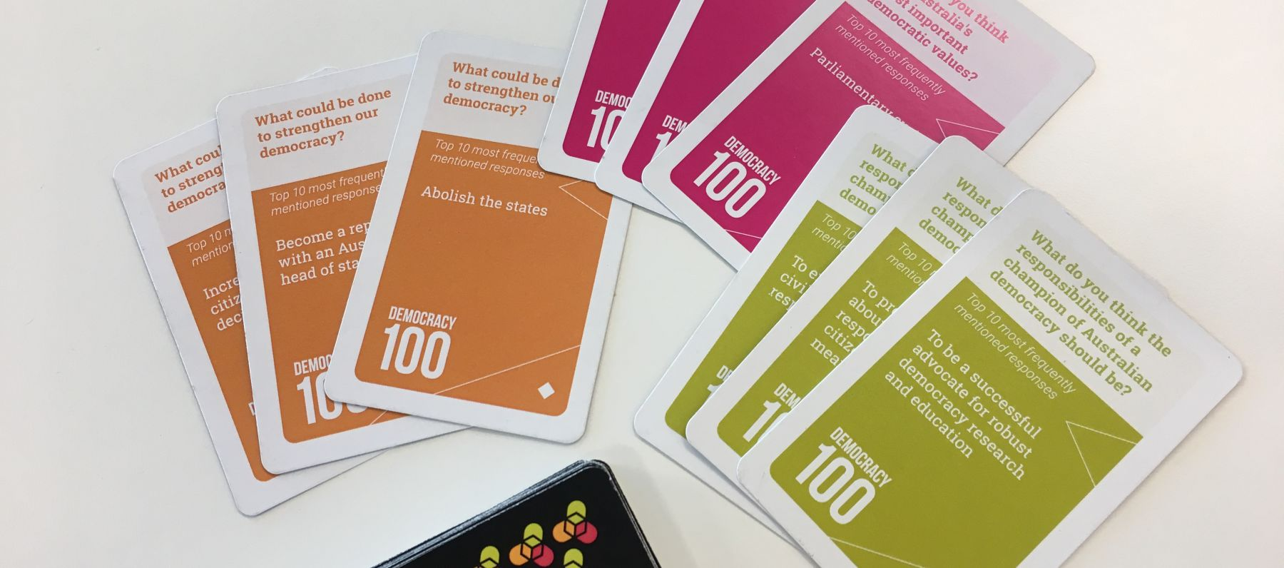 ThinkPlace's democracy card game