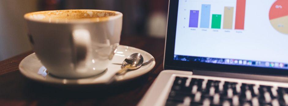 coffee and work