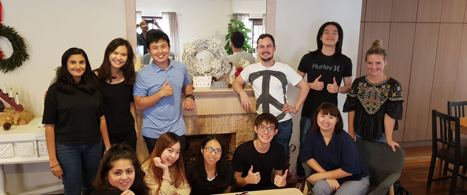 Anna Chung with the team at ThinkPlace Singapore studio