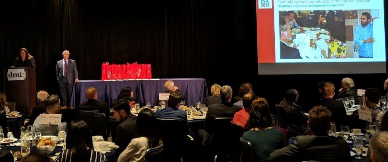 The DVA awards ceremony