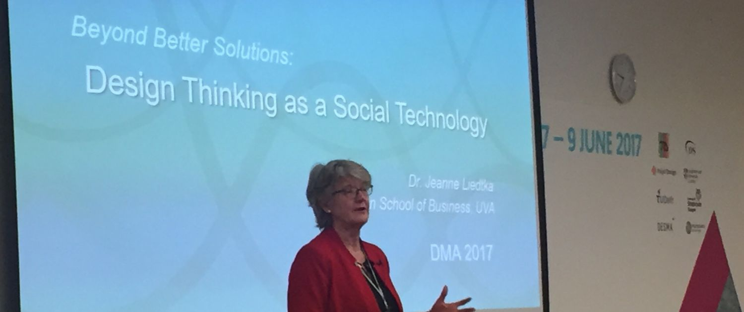 Design thinking as a social technology