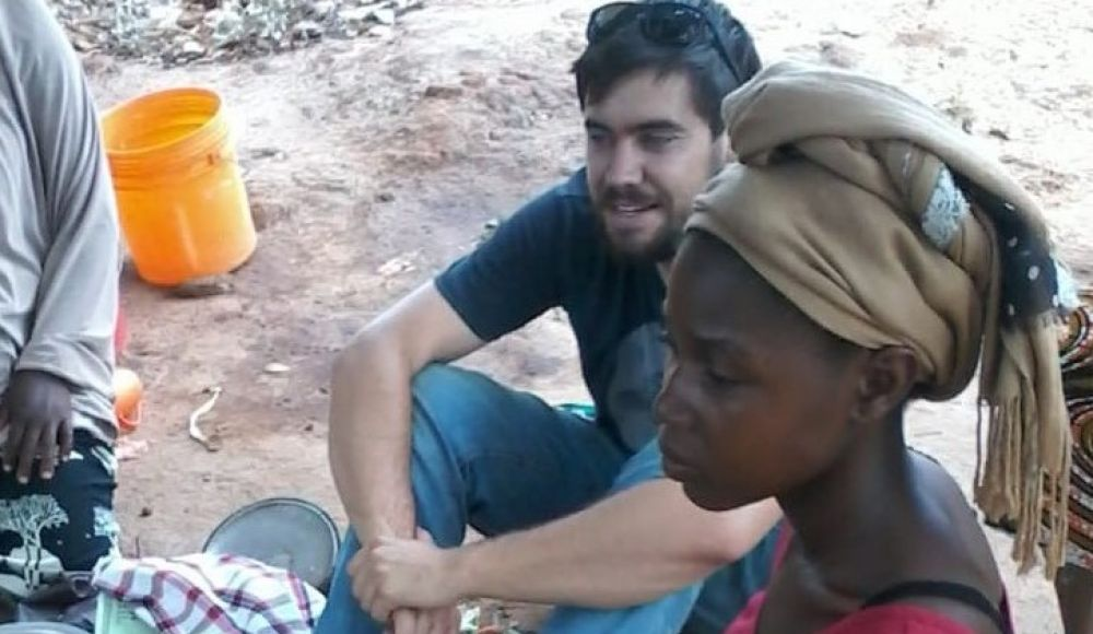 Eliot Duffy in Africa