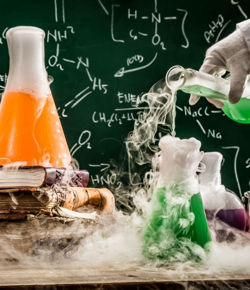 A science experiment
